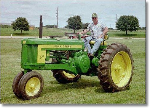 John Deere 520 Tractor Clutch : The john deere tractor