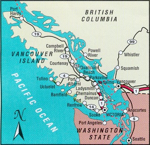 how to go to victoria from seattle