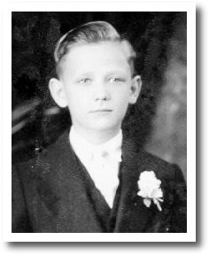 Pop's First Communion Portrait