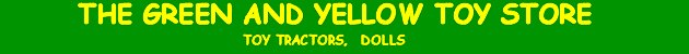 The Green and Yellow Toystore