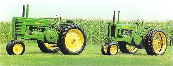 Two Model G Tractors